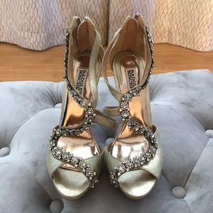 Badgley Mischka Bridal Heels